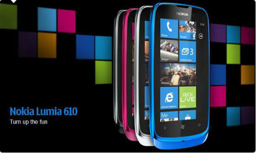 Nokia Lumia 610 to cost Rs.11,000