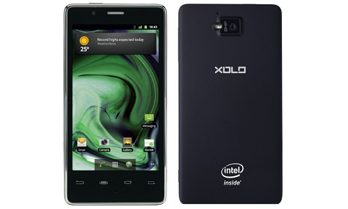 Lava brings Xolo phone powered by Intel