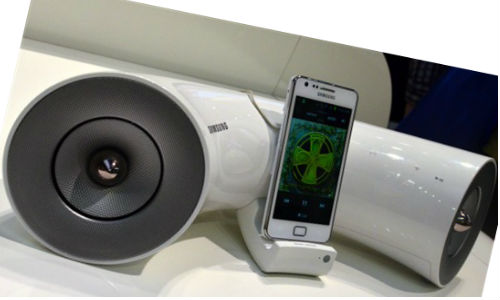 New range of Speaker docks for Samsung Galaxy S and iPhone