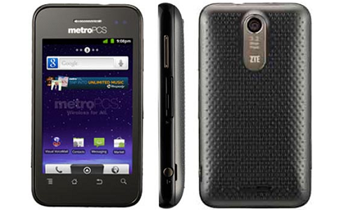 ZTE Score M: A low end Android phone