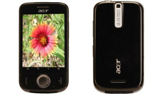 Acer beTouch E110: Cheapest Android smartphone in India