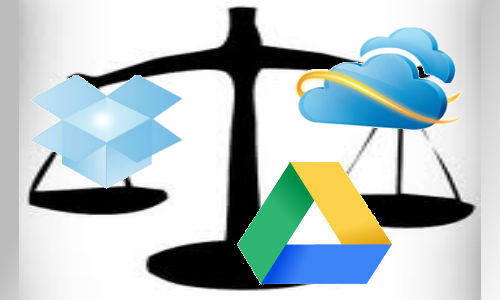 Comparison of Google Drive, SkyDrive and Dropbox