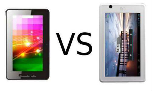 Comparison of Micromax FunBook and HCL MeTab U1