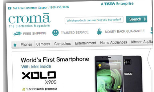 Croma's online portal to help you buy