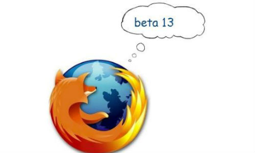 Firefox 13 Beta ready for download
