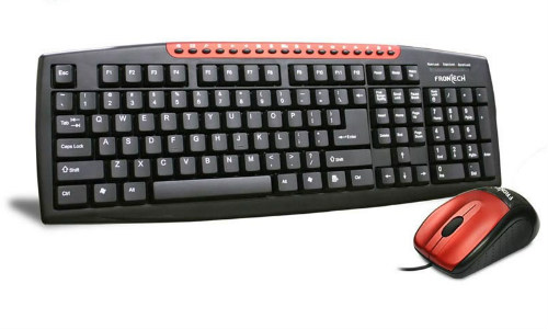 Frontech 1665 Keyboard Mouse Combo at only Rs 399