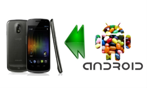 Galaxy Nexus, the first phone to get Android Jellybean?