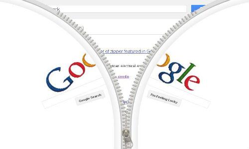 Google doodles Gideon Sundback's birthday