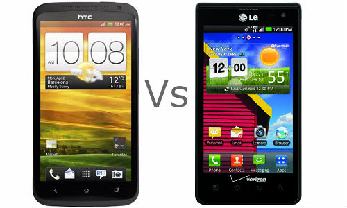 HTC One X Vs LG Lucid 4G: Android Phones