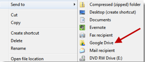 how to download from google drive to windows 7