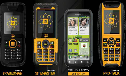 List of JCB Toughphones