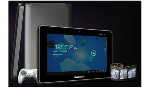 Karbonn Android 4.0 tablet in the next 10 days