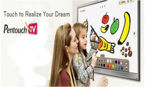 Anything is possible with the LG Pentouch 50PZ850 3D Plasma TV