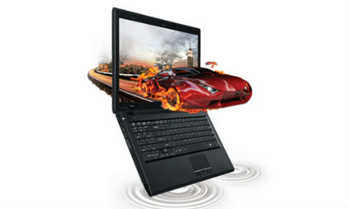 Get the 3D Edge with LG A530-D LCD Notebook