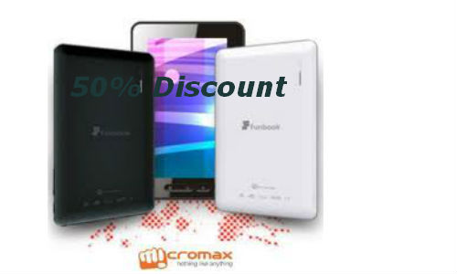 Best deals on the Micromax Funbook tablet
