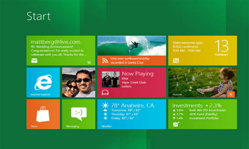 Microsoft reveals 3 Windows 8 versions