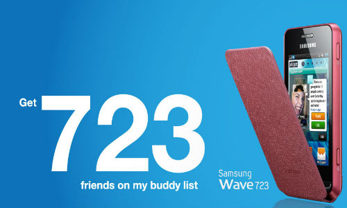 Samsung Wave 723 Bada Smartphone for you