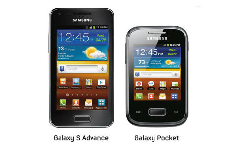 Samsung launches Galaxy Pocket, S Advance in India