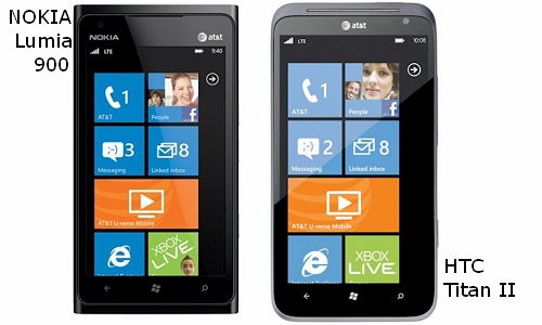 Smartphones Comparison: Nokia Lumia 900 Vs HTC Titan 2