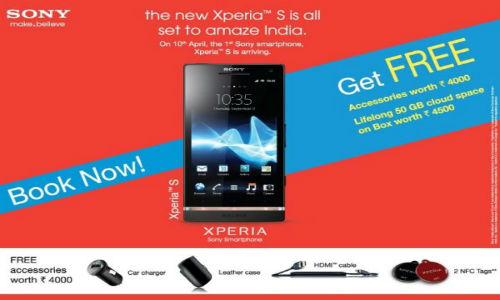 Sony Xperia S pre-bookings open