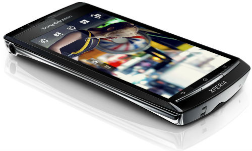Sony Xperia ST21i Android phone pops out
