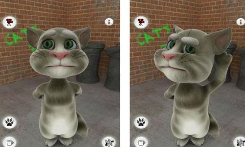 talking tom cat phone app