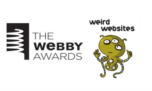 Webby Awards: Top 5 weirdest websites
