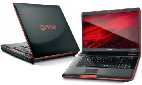 Toshiba Qosmio 875 laptop: Full Specifications