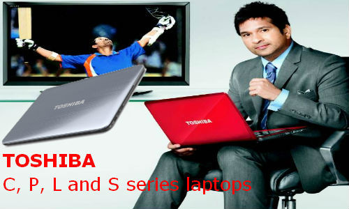 Toshiba announces C, P, L and S series laptops