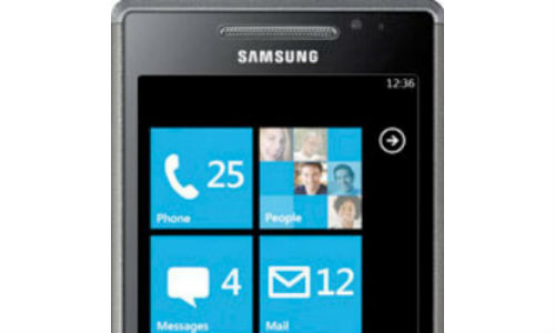 Samsung launching 3 Windows Phone handsets in 2012