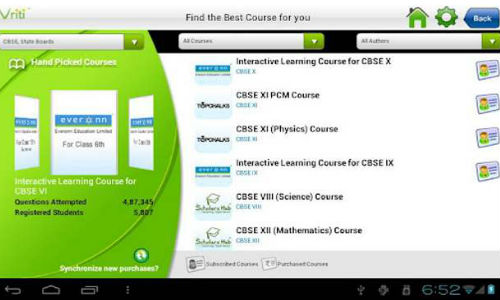 Google Play is home to various educational apps as well