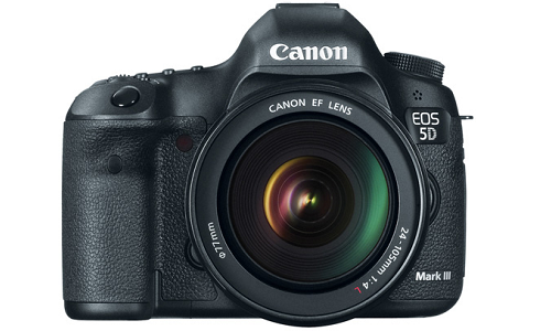 Canon 5D Mark III Camera goes for testing