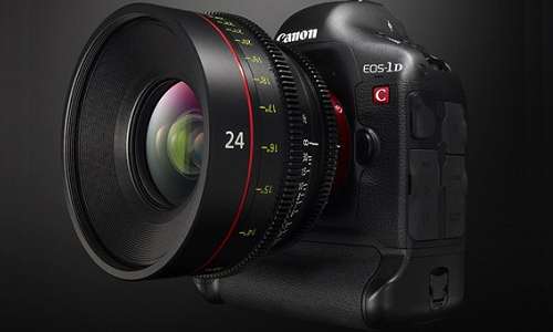 EOS 1D C, a 4K compatible DSLR camera from Canon