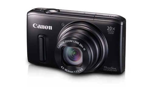 Canon's new PowerShot SX240HS camera review