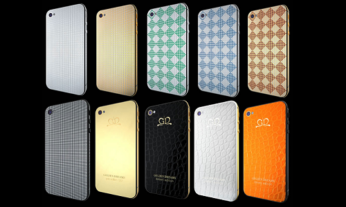 A luxury iPhone collection from Golden Dreams