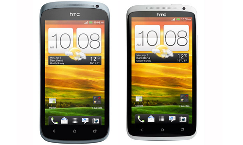 Comparison of HTC One X and HTC One S smartphones