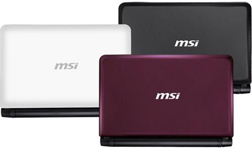 MSI launches new U180 Netbook