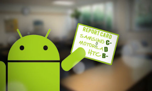 Best manufacturers getting Android updates