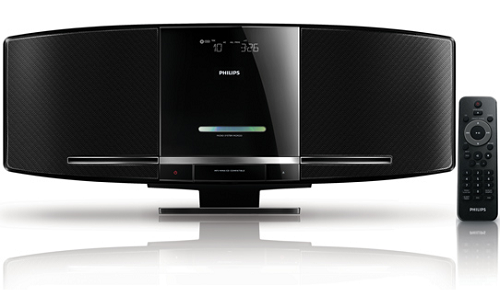 Philips DCM292 sleek elegant music system