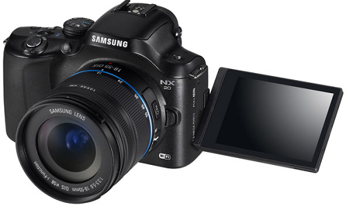 Samsung adds two mirrorless camera - NX20 and NX21