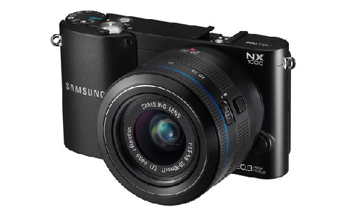 Samsung 1000NX large sensor camera