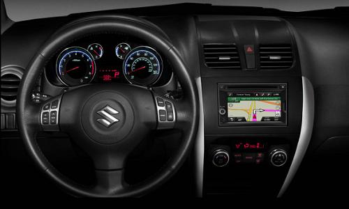 Suzuki in dash entertainment system with Garmin