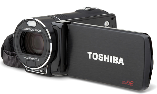Toshiba launches new Camileo camcorder models