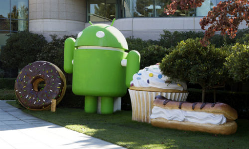 Different versions of Android OS