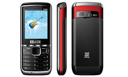 Xage M288 Zeal: A triple SIM phone for Rs 4,000