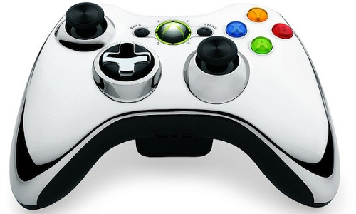Special Chrome series Xbox controllers