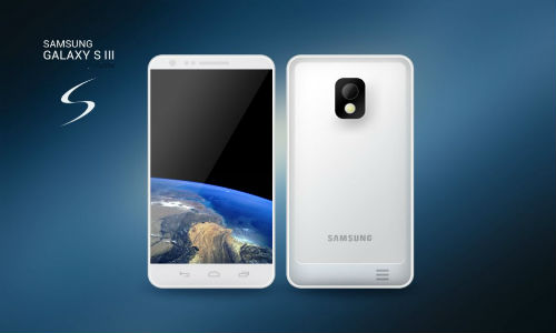 Samsung Galaxy S3 to come in white and dark blue colors