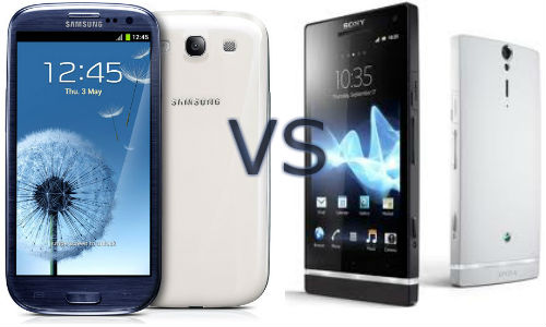 Comparison of Samsung Galaxy S3 and Sony Xperia S