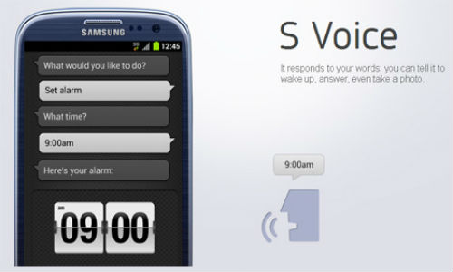 Galaxy S3 firmware leaks any ICS device can use S Voice
