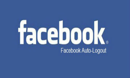How to automatically log out of Facebook?